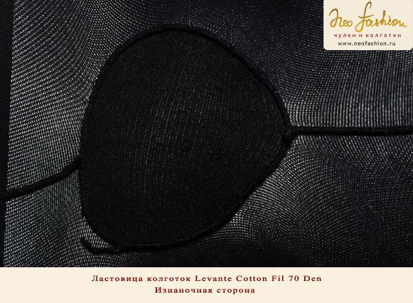Колготки Levante Cotton Fil 70 Den: ластовица