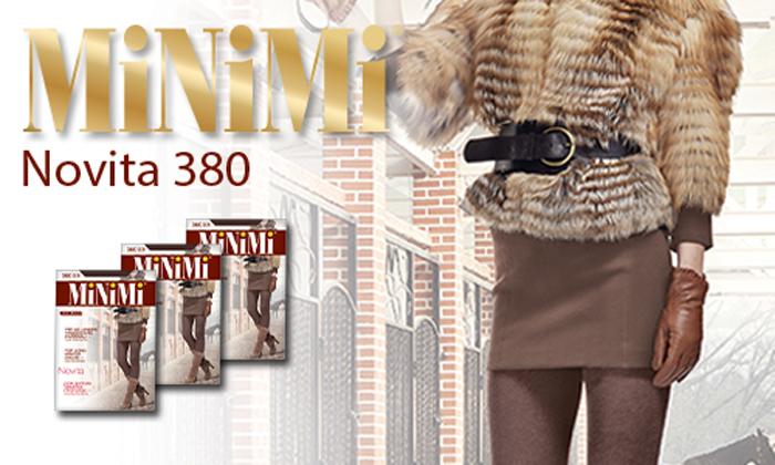 Колготки MINIMI NOVITA 380